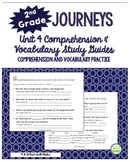 2nd Grade Journeys, Unit 4 Common Core Comprehension & Vocabulary
