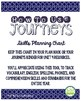 2nd Grade Journeys Unit 4 Skills Planning Chart