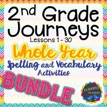 2nd Grade Journeys BUNDLE