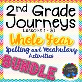 2nd Grade Journeys | Spelling and Vocabulary | BUNDLE