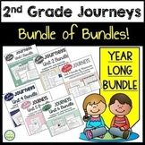 2nd Grade Journeys Bundle of Bundles - EVERYTHING ALL YEAR!