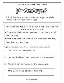 2nd Grade Journeys Grammar Notebook Unit 4