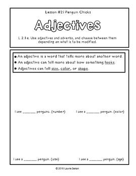 2nd Grade Journeys Grammar Notebook Unit 5
