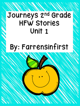 2nd Grade Journeys, HFW Stories Unit 1