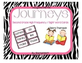 2nd Grade Journeys High Frequency / Sight Word Cards for W