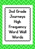 2nd Grade Journeys High Frequency Word Wall