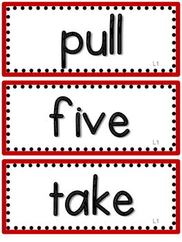 2nd Grade Journeys High Frequency Words- All 30 Lessons