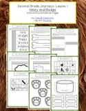 2nd Grade Journeys Lesson 1 Interactive Notebook Pages