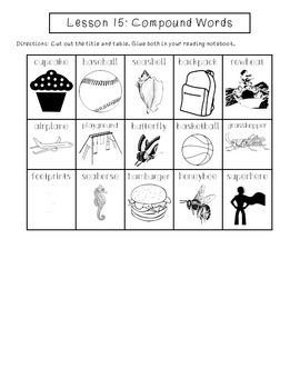 2nd Grade Journeys Lesson 15 Interactive Notebook Pages
