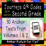2nd Grade Journeys QR Codes for Listening Centers