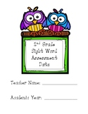 2nd Grade Journeys Sight Word Assessment BUNDLE