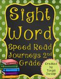 2nd Grade Journeys Sight Word Speed Read, Units 1-6 Bundle