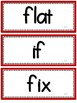 2nd Grade Journeys Spelling Words (Large Weekly Wall Cards) -RED