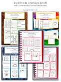 2nd Grade Journeys Unit 1 Interactive Notebook Pages
