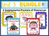 2nd Grade Journeys Unit 3 Bundle!