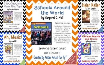2nd Grade Journeys: Unit 3 Supplemental Activities