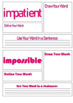 Journeys 2nd Grade Unit 3 Vocabulary Task Cards