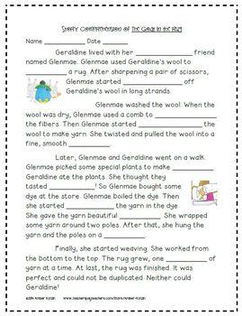 2nd Grade Journeys: Unit 5 Supplemental Activities © 2011