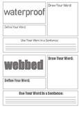 Journeys 2nd Grade Unit 5 Vocabulary Task Cards