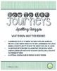 2nd Grade Journeys, Unit 6 Spelling Quizzes and Sentence Dictation