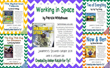 2nd Grade Journeys: Unit 6 Supplemental Activities © 2011