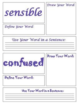 Journeys 2nd Grade Unit 6 Vocabulary Task Cards