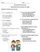 2nd Grade Journeys Vocabulary & Comprehension Tests: Unit 1 Bundle
