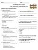 2nd Grade Journeys Vocabulary & Comprehension Tests: Unit 3 Bundle