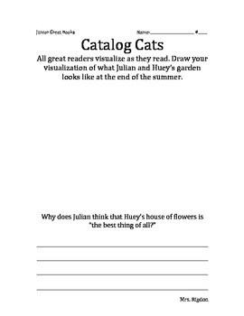 2nd Grade Junior Great Books- CATALOG CATS Visualizing