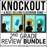 2nd Grade End of Year Review [Knockout Math + ELA Bundle]