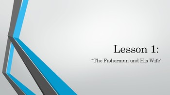 2nd Grade: Knowledge Lesson 1 - The Fisherman and His Wife/