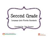 2nd Grade LAFS Language Arts Florida Standards Checklist w