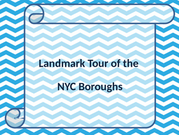 2nd Grade Landmark Tour of the NYC Boroughs
