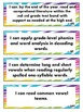 2nd Grade Language Arts- I Can Statements for Common Core