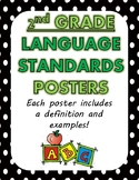 Language Standards Posters/Anchor Charts ~2nd Grade Common Core