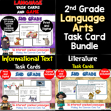 2nd Grade Language Arts Task Card Bundle