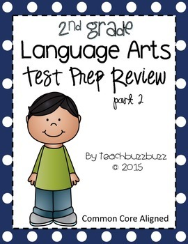 2nd Grade Language Arts Test Prep Review