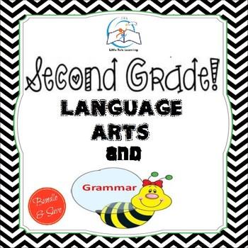 2nd Grade Language Arts and Grammar BUNDLE