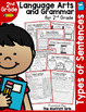 2nd Grade Language Arts and Grammar BUNDLE