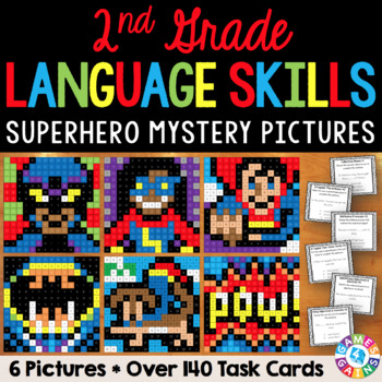 2nd Grade Language Centers: 2nd Grade Grammar Activities