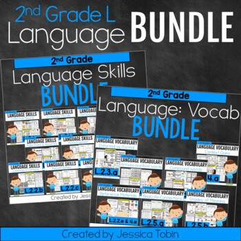 2nd Grade Language Domain GROWING Bundle