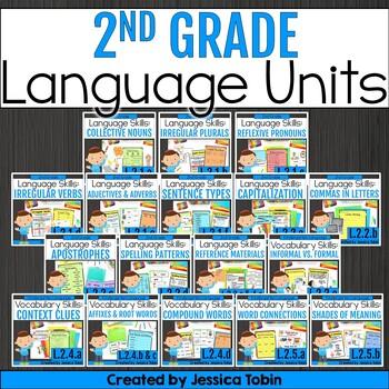 2nd Grade Language Domain Bundle