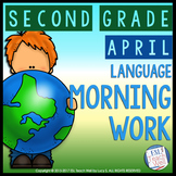 Morning Work Second Grade | APRIL Morning Work Printables