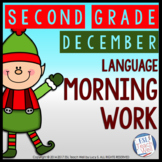Morning Work Second Grade | DECEMBER Morning Work Printables