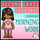 Morning Work Second Grade | FEBRUARY Morning Work Printables