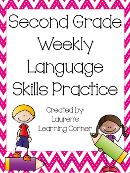 2nd Grade Language Skills Practice - Common Core Aligned