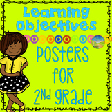 "2nd Grade Learning Objectives - ""I can"" Posters"