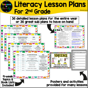 2nd Grade Literacy Lesson Plans