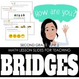 2nd Grade Lesson Slides for Bridges Math - Unit 2