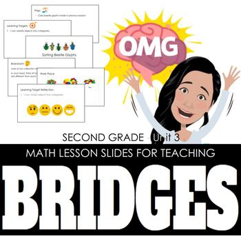 2nd Grade Lesson Slides for Bridges Math - Unit 3